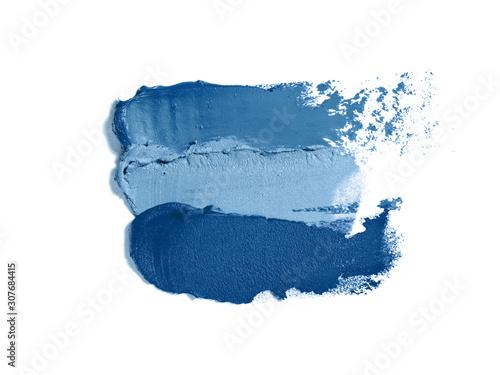 Fotografia, Obraz Classic blue makeup texture.