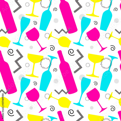 vector-geometric-pattern-with-colorful-glasses
