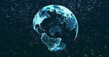 Digital Space World 3d Data Ea...