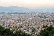 Kathmandu Skyline At Sunset (Nepal)