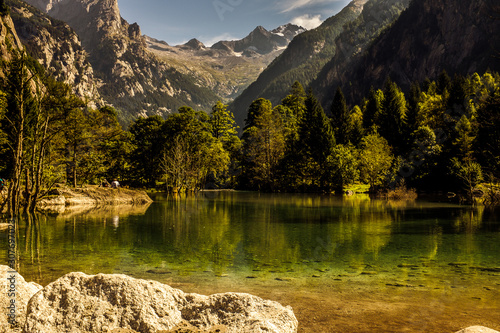 Photo  Val di Mello Sondrio Italy is a Nature Reserve