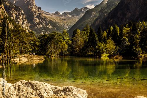 Val di Mello Sondrio Italy is a Nature Reserve Canvas Print