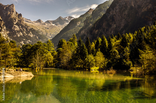 Photo Val di Mello Sondrio Italy is a Nature Reserve
