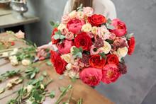 European Floral Shop Concept. ...