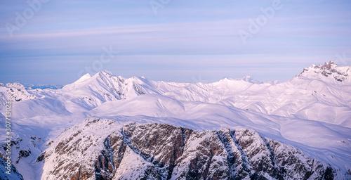 Photo Panorama des alpes françaises