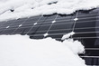 Solar panels and the problem they can have with wether, wind, dust or snow