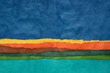 Abstract Landscape - Colorful ...