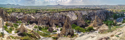 Photo Cappadocia - Goreme Open Air Museum, view from the top. Turkey