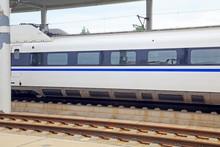 High Speed Train And Rail
