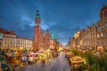 Christmas Market On Rynek Squa...