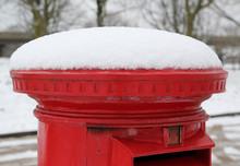 Postbox Snow Close Up 2
