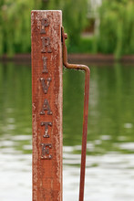 Private Wooden Mooring