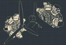 7 Cylinder Radial Engine
