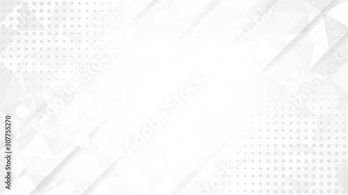 Obraz na plátně Abstract gray white backdround