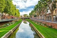 Streets Of Perpignan, France