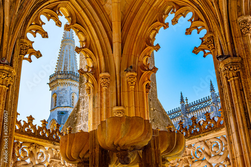 Photo Ornament at the Batalha monastery in Portugal