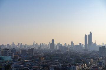 Bangkok City Skyline in morning