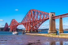 Forth Bridge Across Firth Of F...