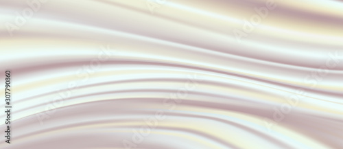 Fotografie, Tablou  Abstract white fabric