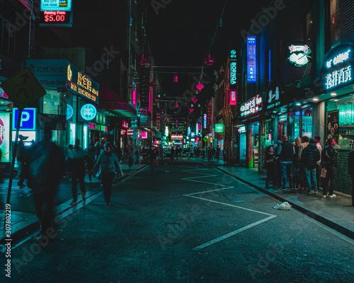 Chinatown w nocy