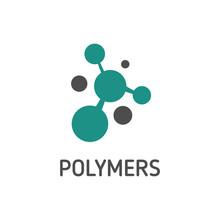 Vector Of Polymer Logo Concept Design Eps Format