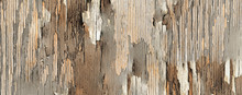 Old Vintage Brown And Beige Painted Wood Planks, Rustic Scratch Wooden Texture Background; It Can Be Used For Interior-exterior Home Decoration And Ceramic Tile.