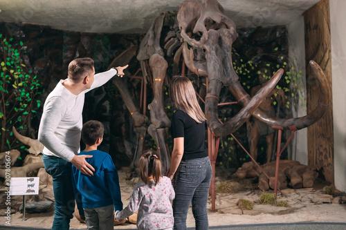 Fotografia Family in the Museum