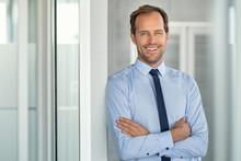 Successful Mature Business Man...
