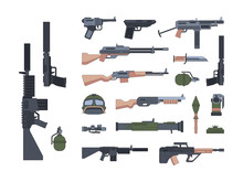 Military Weapons And Protectio...