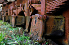 Rusty Train Wheels