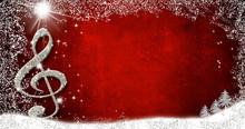 Christmas Musical Card, Border...