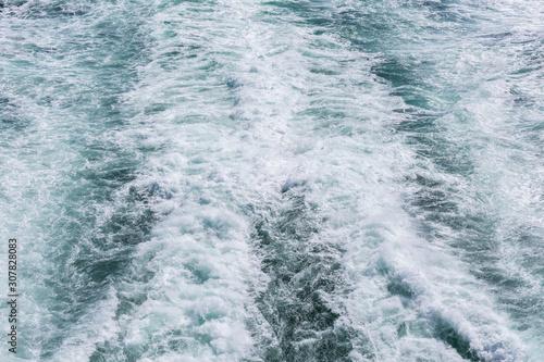 Photo Meer, auf der Fähre von Dänemark nach Norwegen