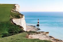 White Cliffs At Beachy Head, E...