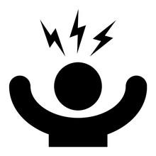 Stress Symbol Icon