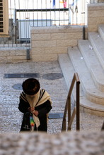 Old Man In Jerusalem