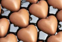 Multitude Of Heart-shaped Milk...