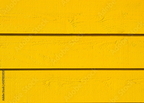 Yellow Wooden Wall