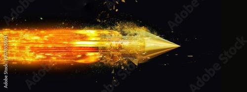 抽象的なロケット Fototapeta