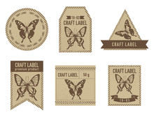 Craft Labels Vintage Design Wi...
