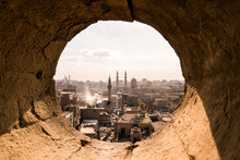 Landscape Of Cairo Old City In Egypt Africa
