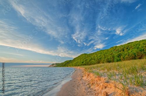 Obraz na płótnie Shoreline Sleeping Bear Dunes National Lakeshore