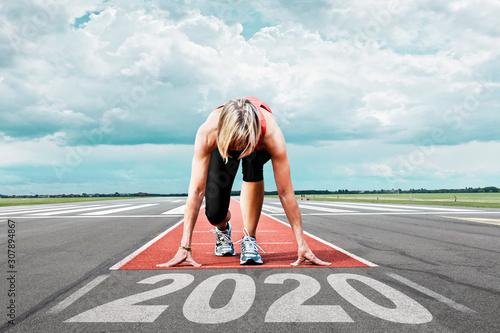 Fotografía runner start runway 2020