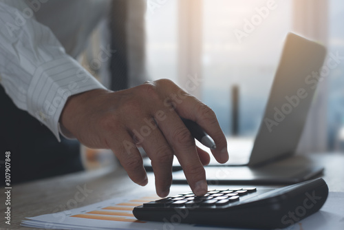 Fototapety, obrazy: Business strategy analysis