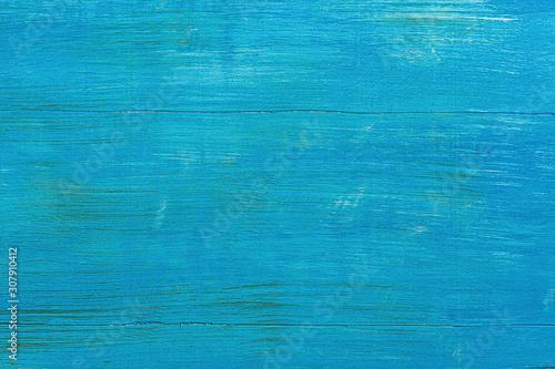 Obraz blue painted wood background - fototapety do salonu