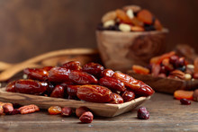 Various Dried Fruits And Nuts ...