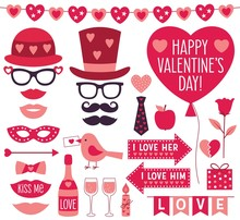 Valentines Day Vector Party Pr...