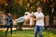 Father Playing With Daughter S...