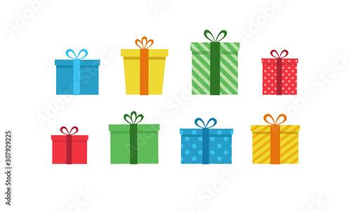 Cuadros en Lienzo Colorful gift boxes set
