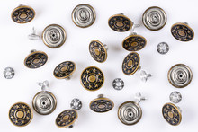 Bronze Vintage Buttons With Me...