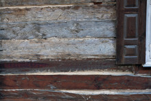 Old Weathered Wooden Of A Rura...